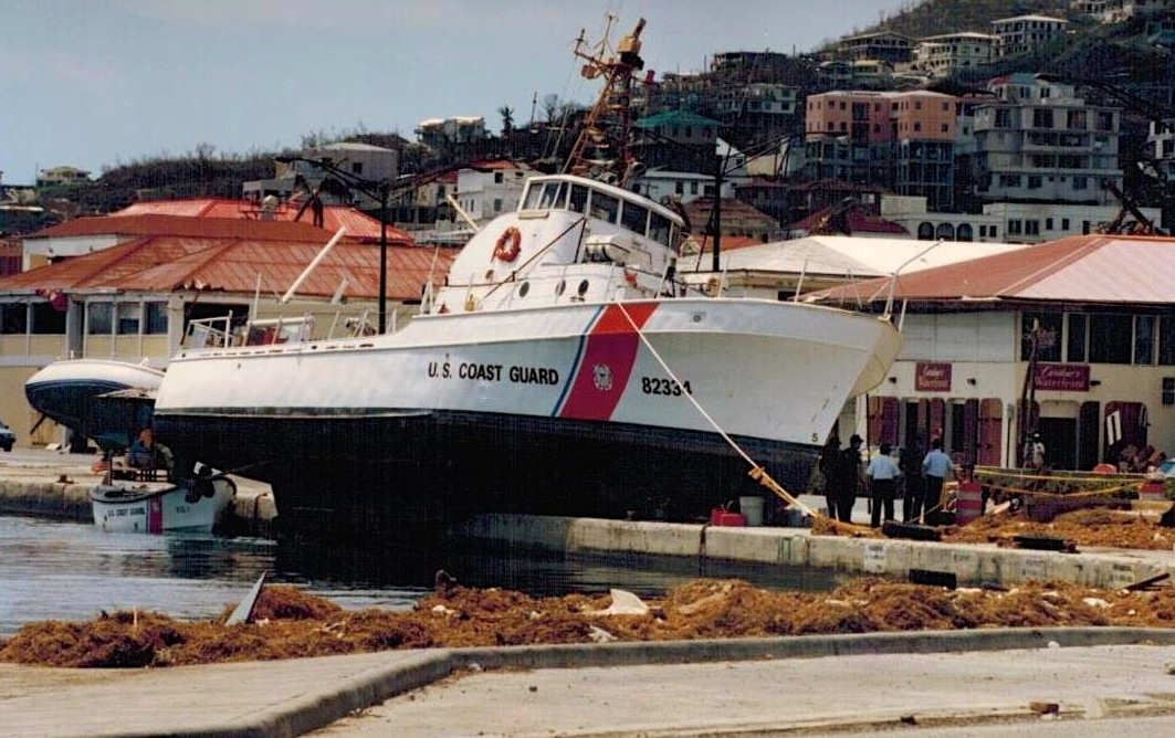 [Point Ledge after Hurrican Marilyn, St Thomas, 1995]
